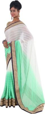 Vikrant Collections Embellished Fashion Chiffon Sari