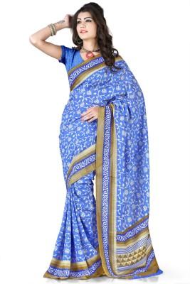 Ramkrishna Enterprise Printed Fashion Art Silk Sari