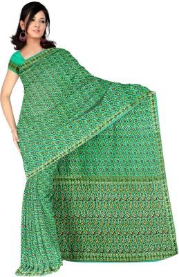 Kothari Self Design Banarasi Chiffon Sari