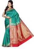 Ishin Self Design Fashion Art Silk Saree...