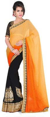 Kamelasaree Embriodered Fashion Georgette Sari