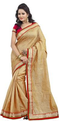 Awesome Self Design Fashion Cotton, Jacquard Sari