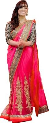 Laxmi Sarees Embriodered Fashion Net Sari