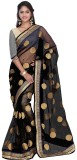 MANJULAFEB Embellished Bollywood Net Sar...