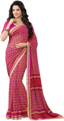 Shonaya Printed Daily Wear Georgette Sari