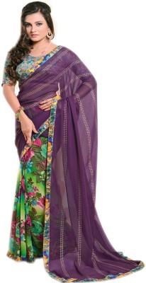 Pawan Tex Printed Fashion Georgette Sari