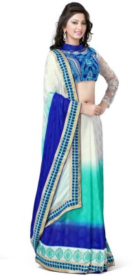 Anerra Embriodered Fashion Georgette Sari