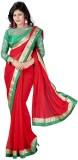 Elevate Women Embroidered Fashion Chiffo...