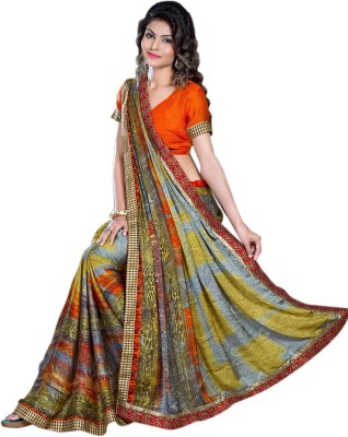Jhankar Collection Self Design Bollywood Satin Sari