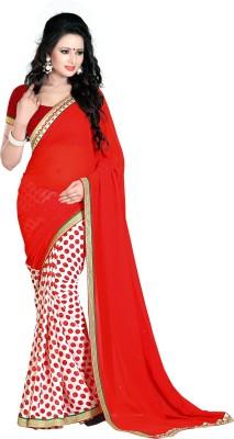 Hasti Urmilla Graphic Print Fashion Georgette Sari