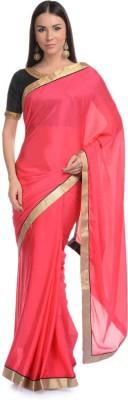 Aarohii Plain Bollywood Chiffon Sari