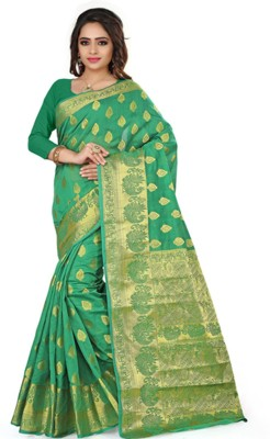 ethniccrush Printed Fashion Cotton Sari