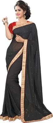 Shop Avenue Embriodered Fashion Chiffon Sari