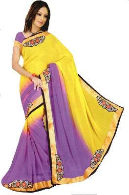 diyafashion1 Checkered Bollywood Polycotton Sari