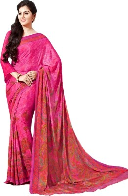 Meera Printed Fashion Crepe Sari