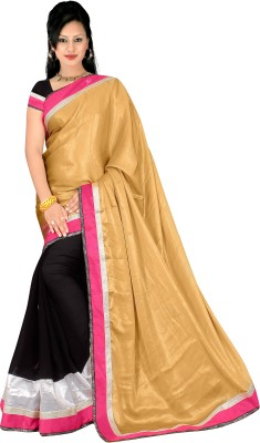 Simran Fashion Embellished Fashion Handloom Georgette Sari