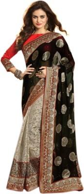 Vardhini Embriodered Fashion Jacquard Sari