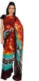 Rama Printed Fashion Georgette Saree (Mu...
