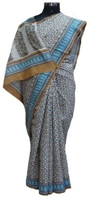 malvika exclusive Printed Daily Wear Cotton Sari