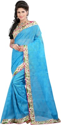 Sbfsarees Plain Fashion Brasso Sari