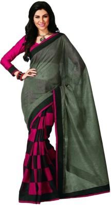Kalaniketanfashion Printed Bhagalpuri Art Silk Sari