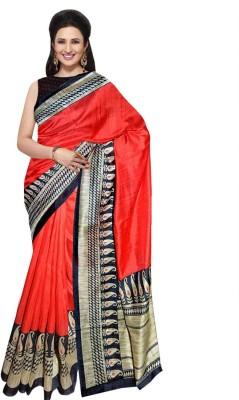Wama Fashion Printed Manipuri Cotton Sari