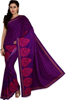Aryahi Printed Daily Wear Crepe Sari