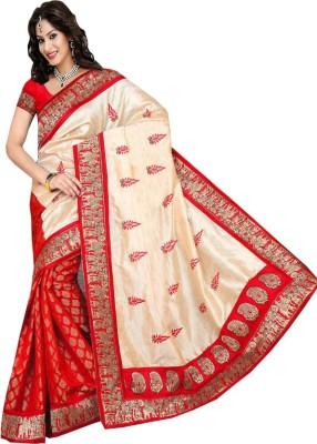 Crishna Enterprises Printed Daily Wear Silk Sari