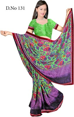Aishwarya Printed Fashion Sequined Fabric Sari