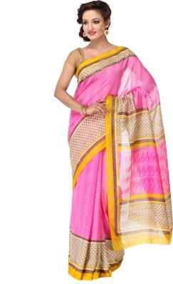 Varanga Printed Fashion Silk Sari
