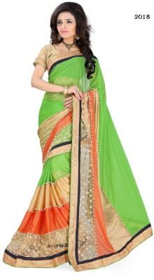Alankar Creations Embriodered Fashion Pure Georgette Sari