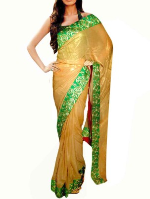 Sthavi Embriodered Fashion Georgette Sari