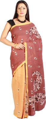 Slice of Bengal Woven Tant Silk Cotton Blend Sari