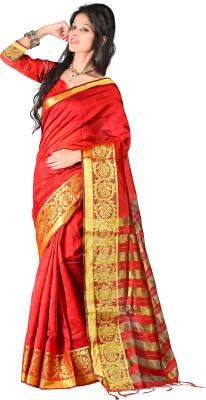 Kajal Syntex Embellished Kanjivaram Jacquard Sari