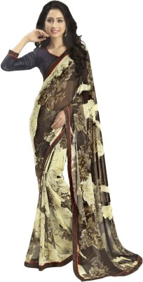 Myntas DXL Floral Print Bollywood Georgette Sari