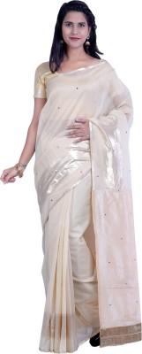Sampradaaya Embriodered Fashion Silk Cotton Blend Sari