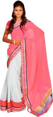 Jagadamba Solid Bollywood Jute Sari