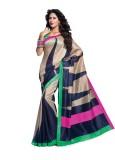 Taanshi Printed Rajshahi Art Silk Saree ...
