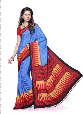 Hi-Choice Printed Fashion Crepe Sari