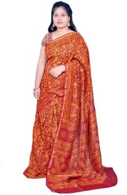 Rashmi Boutique Printed Chanderi Cotton, Chanderi Sari
