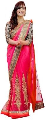 Aracruz Embriodered Fashion Net Sari