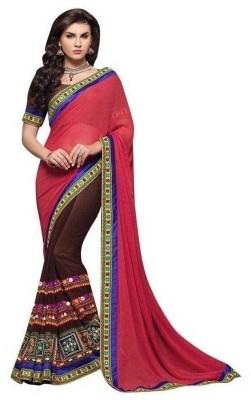 Ridhhi Self Design Bollywood Georgette Sari