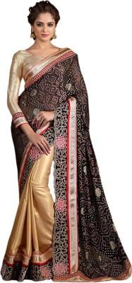 Roopleela Printed Bollywood Brasso Sari
