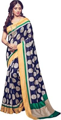 Daksh Enterprise Embriodered Daily Wear Silk Sari
