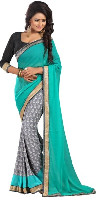 Patricia Self Design Bollywood Georgette Sari