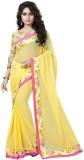 ambe fashion Plain Bollywood Pure George...