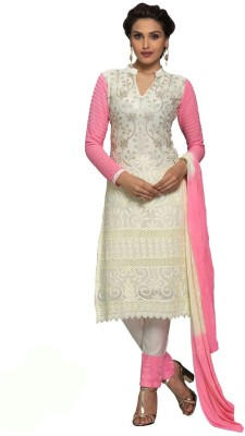 Choclaty Embroidered Kurta & Churidar