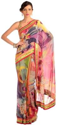 Chhabra 555 Printed Daily Wear Georgette Sari
