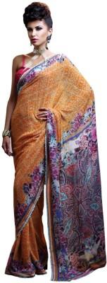 Odhni Printed Fashion Georgette Sari