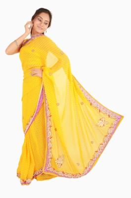 Vasundhara Lifestyle Embriodered Fashion Jacquard Sari